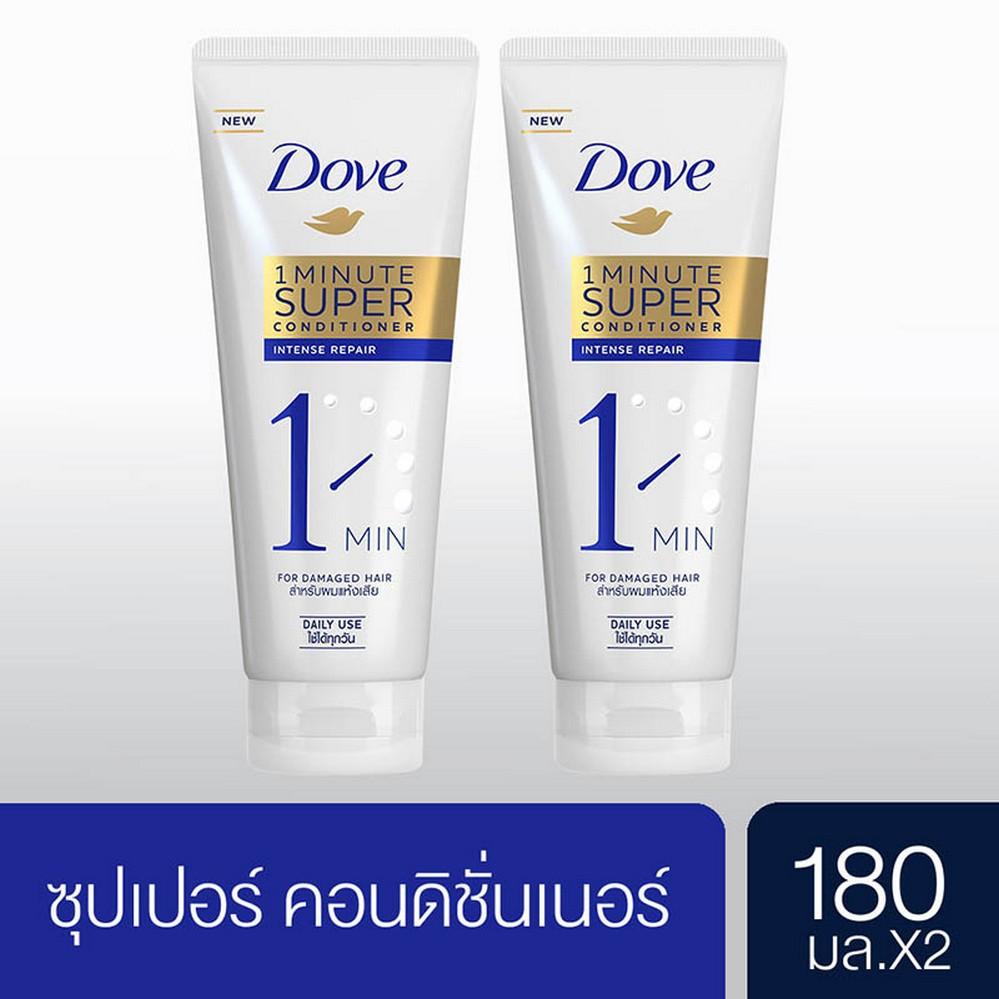 Dove Intensive Repair 1 Minute Super Conditioners 180 ml. (2 pcs) UNILEVER
