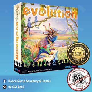 Review [บอร์ดเกม ของแท้] Evolution game system (Second edition)(ENG) Board Game