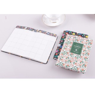 Review ZJ△Flowery Weekly Monthly Planner Diary Journal Blank Calendar Organizer