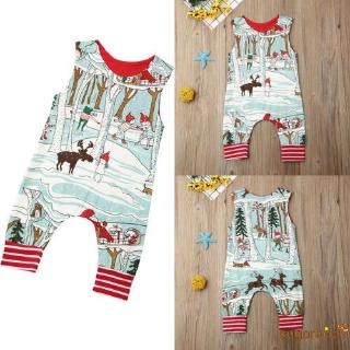 Image # 8 of Review SgmNewborn Baby Girl Boy Christmas Costume Santa Romper Jumpsuit Bodysuits Clothes Xmas Outfits