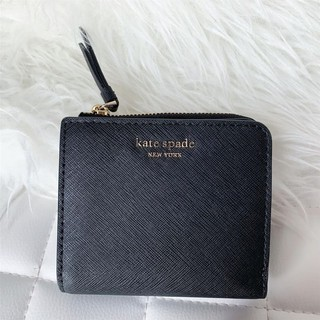 Review Kate Spade Cameron Small L-Zip Bifold Wallet