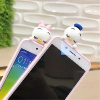 Image # 1 of Review เคส Huawei P9  P9plus P10plus iphone 6 6s 6plus 7plus vivo V5s ฝาหลังทีพียูการ์ตูนปีนจอ Mickey Minnie Mouse Donald Duck