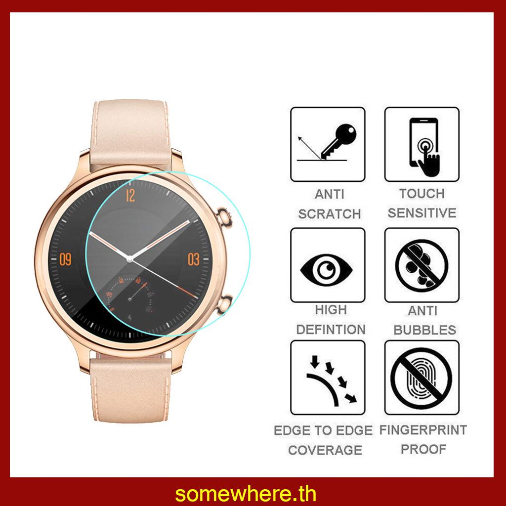 Review somewhere3PC Ticwatch E2 C2 S2 Smart Watch Ultra Clear Film Tempered Glass Screen Protector