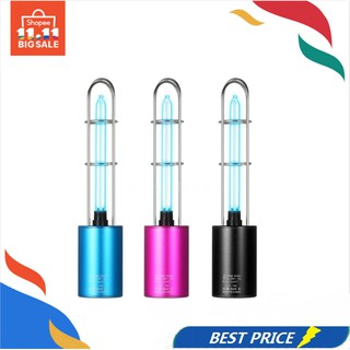 Review Rechargeable UV Sterilizer Light Air Purifier DC5V Ultraviolet + Ozone UV Germicidal Lamp Portable Sterilization Light f