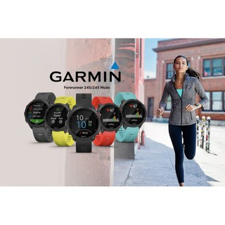Review GARMIN FORERUNNER 245 MUSIC/NOMUSIC AQUA/BLACK/LAVA RED/SLATE YELLOW