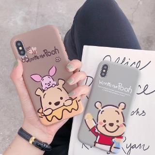 Review Soft Case Vivo S1 Y17 Y12 V15 Pro V11 V11i V9 V5 Plus Y81 Y91C Y95 Y91 Y85 X21 Y15 Y93 X9 Cute Pooh Bear