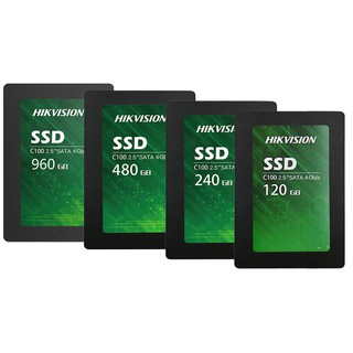 SSD Hikvision C100 240GB 480GB NAND Flash 3D 3Years War