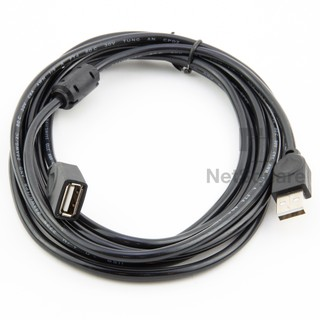 USB 2.0 Male to Female Extension Expansion Cable ตัวเพิ่มความยาว 1.5/3m