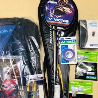 Review VICTOR AVENGERS LIMITED EDITION ของแถมตามในรูปเลยครับ