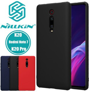 Review NILLKIN Rubber Wrapped Silicone Smooth Protective Back Cover for Xiaomi Mi 9T Redmi K20 K 20 Redmi Note 7 Pro Case