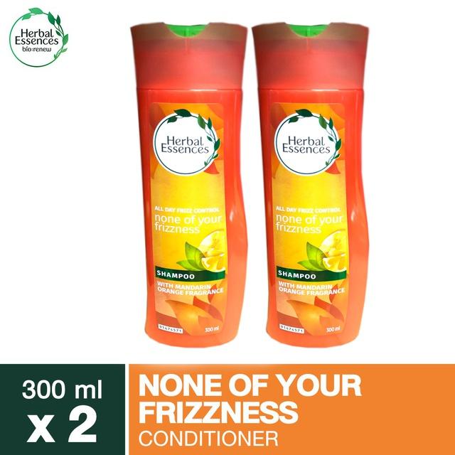 Herbal Essences None of Your Frizzness Shampoo 300ml เฮอร์บัลเอสเซนท์แชมพูนันออฟยัวร์ฟริซซี่เนส300มล