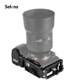 Selens L-Bracket Quick Release Plate for Sony Camera A7III/A7M3/A7RIII/A9 Arca-Swiss plate LP-M3