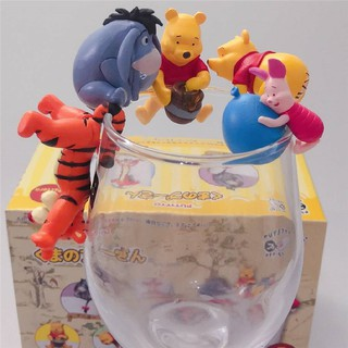 The best Sugar Bowl Pooh Bear Piglet Robin Tigger 5 Vini Cup Cup Hanging Doll