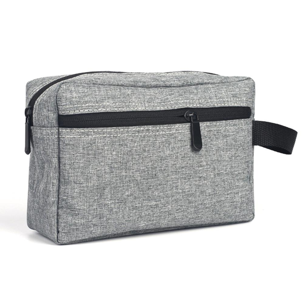 Review Large Capacity Oxford Cloth Portable Storage Washing Travel Waterproof Cosmetic Bag