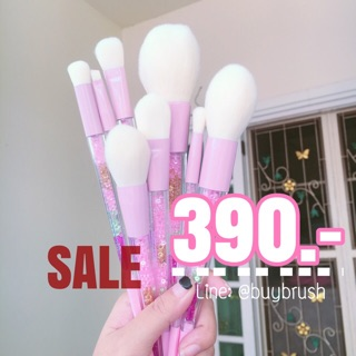 Review พร้อมส่ง CRYSTAL MAKEUP BRUSHES 8pcs.