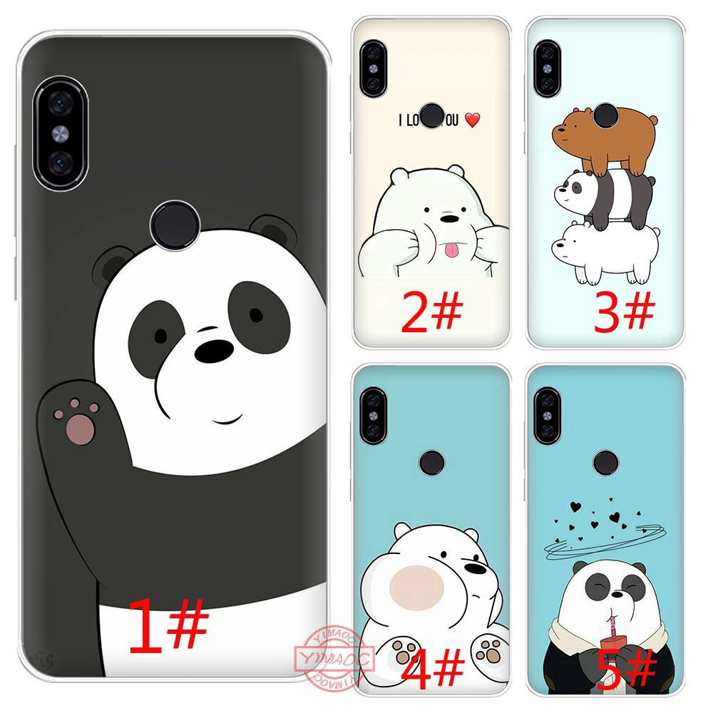 Review We Bare Bears Redmi Note 7 4X 5 6 Pro 5A 6A S2 Soft Case