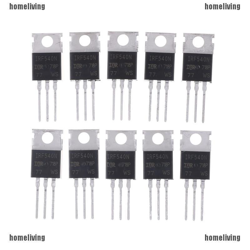 IRF 540n IRF 540 TO-220 N-Channel 33a 100 V Power MOSFET 10 ชิ้น