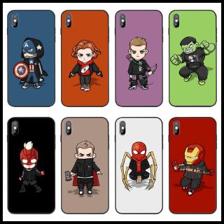 Review เคส Huawei Y9 Y7 Pro Prime 2019 Nova 5T 5i 5 Pro 3i Case Cartoon The Avengers Spiderman iron Man Soft Cover