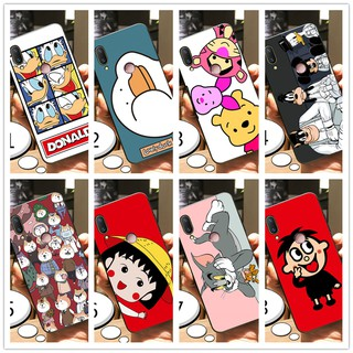Review เคส Huawei Y9 2019 Y Max Y7 Pro Y6 Y5 Case Soft Cartoon Slim Matte Back Cover
