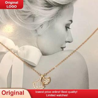 2020 Singapore chomel necklace ginkgo leaf White Fritillaria small fan skirt Dragon female shell choker star necklace