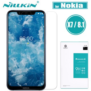 Review Nillkin Glass ฟิล์ม For Nokia 8.1 Tempered Glass Amazing 9H ฟิล์ม Nokia X7