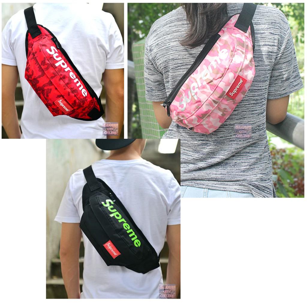 กระเป๋าคาดอก คาดเอว สินค้าพร้อมส่ง(มีหลายสี)
