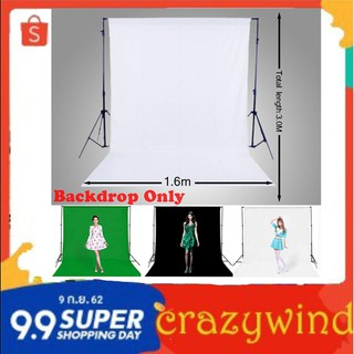 Review Professional Photography Screen Backdrop Non-woven Studio Background Cloth 1.6M x 3M