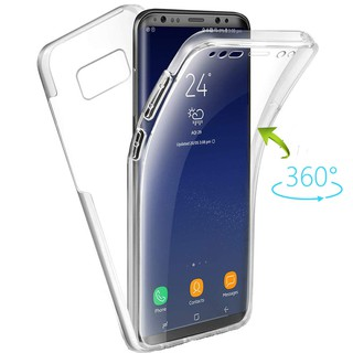 Samsung S3 S4 S5 S6 Edge S7 S8 Plus S9 S10 S10e S10 Plus 360 Degree Full Body Clear Silicon Soft TPU Case Cover
