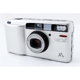 Used【Excellent+++】Ricoh R1s Point & Shoot 35mm Film Camera Silver from JAPAN - 5031