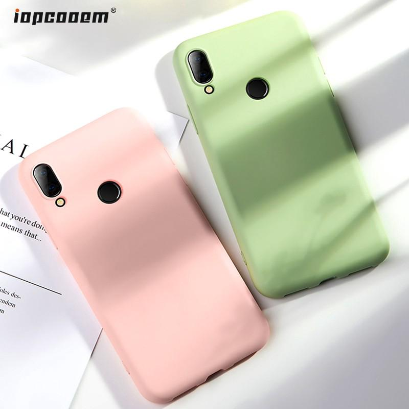 Review Xiaomi Redmi Note 7 Redmi Note 7 Pro Redmi 7 6 Pro 6A Mi A2 Lite Case Liquid Silicone Soft Cover Original Casing
