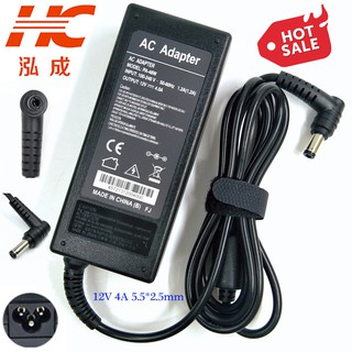 12V 4A 48W 60W (5.5/2.5mm Tip) For LCD Monitor AC Adapter Power SUPPLY Cord New