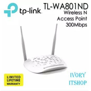 TP-LINK Wireless N Access Point 300Mbps รุ่น TL-WA801ND/ivoryi