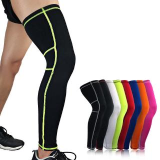 Review 1PCS Men Women Sports Elastic Basketball Leg Leg Warmers Calf Compression Sleeves