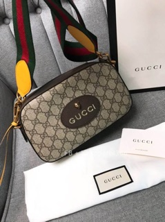 Image # 1 of Review Gucci GG Supreme Crossbody Bag With Strap