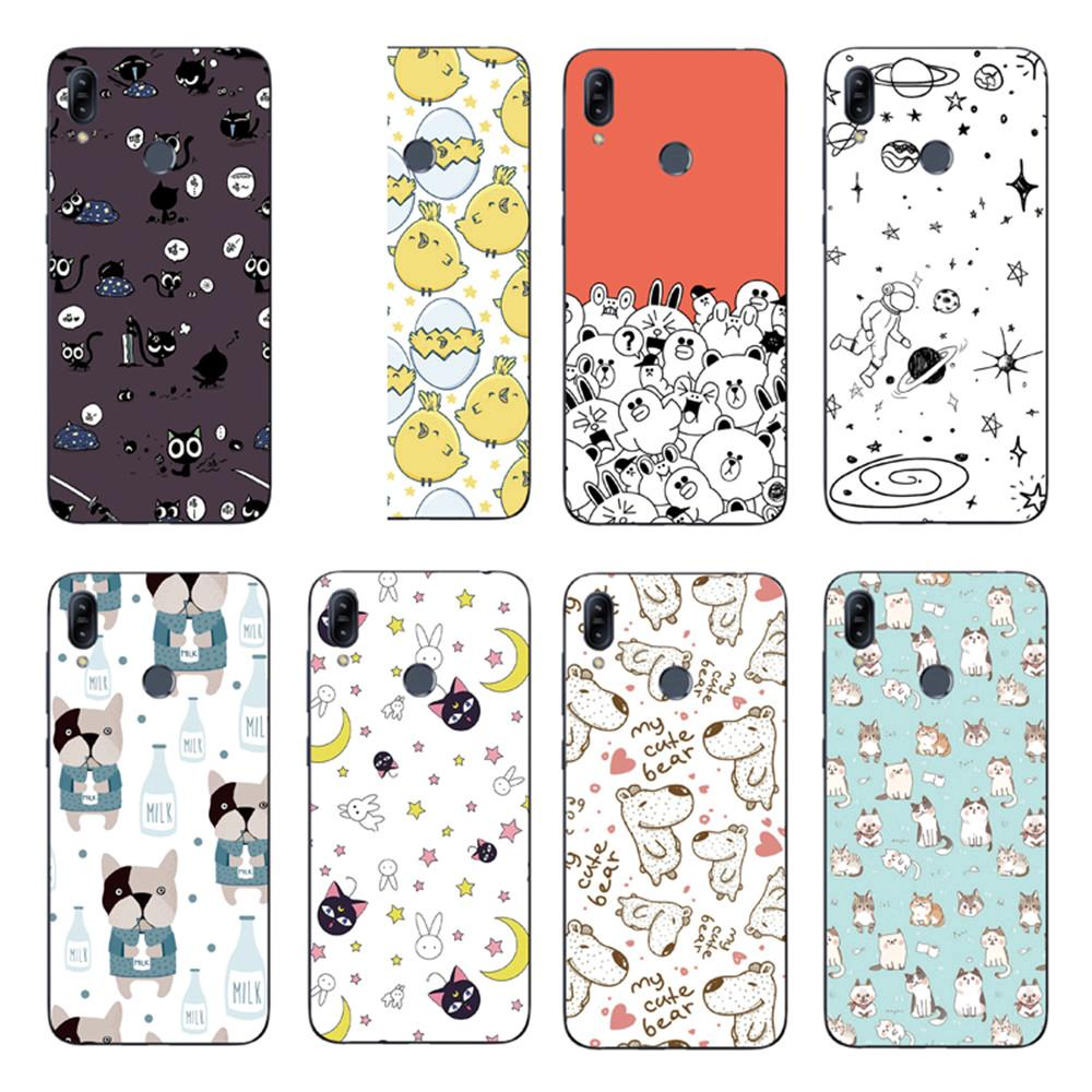 Review Cat Dog Collection Back Cover Asus Zenfone Max Pro M2 ZB631KL / ZB633KL Soft TPU Case