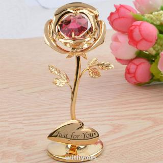Review Best Gift Decorations Flower Gifts Symbol Of Love Valentine's Day Romantic Gold Foil Rose
