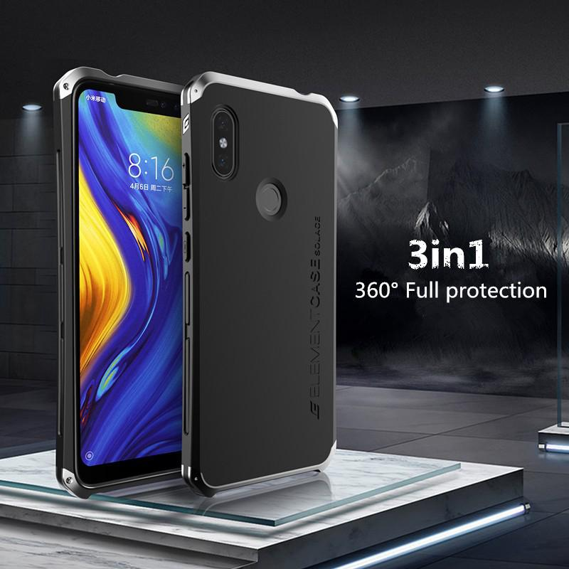 Review Xiaomi Redmi Note 7/ Pro Case 360 Full Protection Metal bumper Back Cover