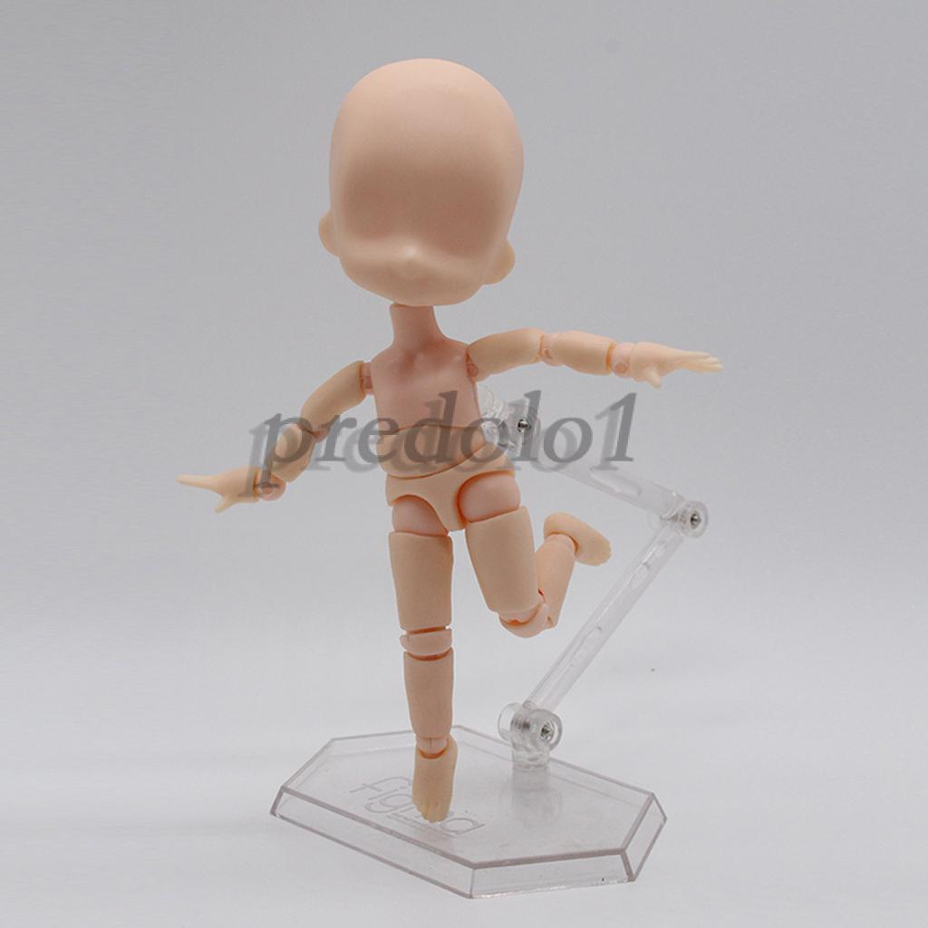 Review Movable Mini Nude Parts Joints For 14cm OB11 Dolls Kid Body Painting Figures