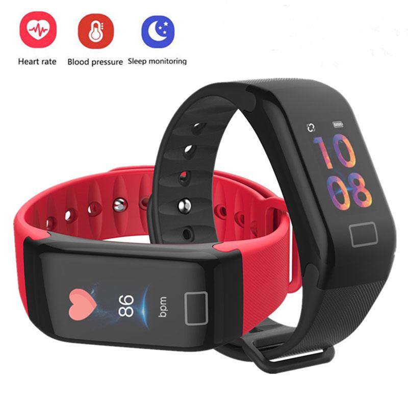 The best Smart Band Watch Fitness Tracker Bracelet Sleep  Heart Rate Monitor Wristband ดูสมาร์ท