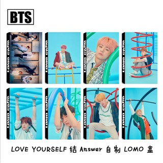 BTS Lomo Card = Love Yourself: Answer