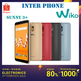 Review WIKO SUNNY 3 PLUS จอ5.45 Ram1 Rom8 [ ประกันศูนย์ 1 ปี ]