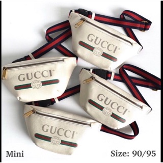 Image # 0 of Review New Gucci Belt Bag Small Print Leather