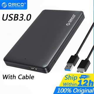 Orico 2.5 นิ้ว External Enclosure USB 3.0 SATA SSD / HDD Drive Case(2577U3)