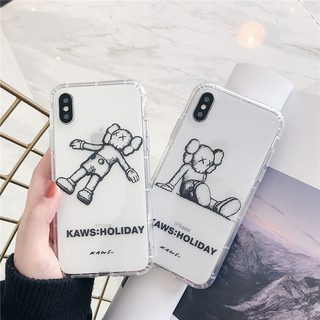 Review IPhone XS Max XR X 8 7 6 s Plus vivo x 27 x 21 Z 3 D Kaws clearsoft TPU Case