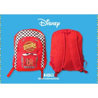 Review |Disney Cars Red Lightning McQueen Backpack กระเป๋าเป้ คาร์
