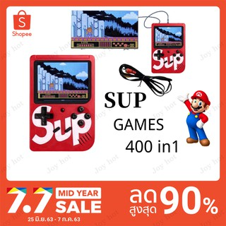 400in1Game SUP Game boy เกมบอย เรโทร Portable Handheld Video Gameboy ย้อนยุค Game Console Support Double Play