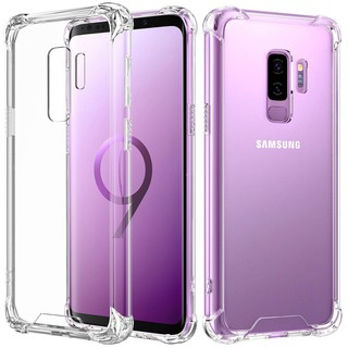 Review เคส Note10 S7 EDGE S8 S9 S10 Plus Note5 NoteFE Note8 Note9 A7 A8 C9 Pro เคสมือถือ Samsung เคสใส กันกระแทก เคสใสกันกระแทก