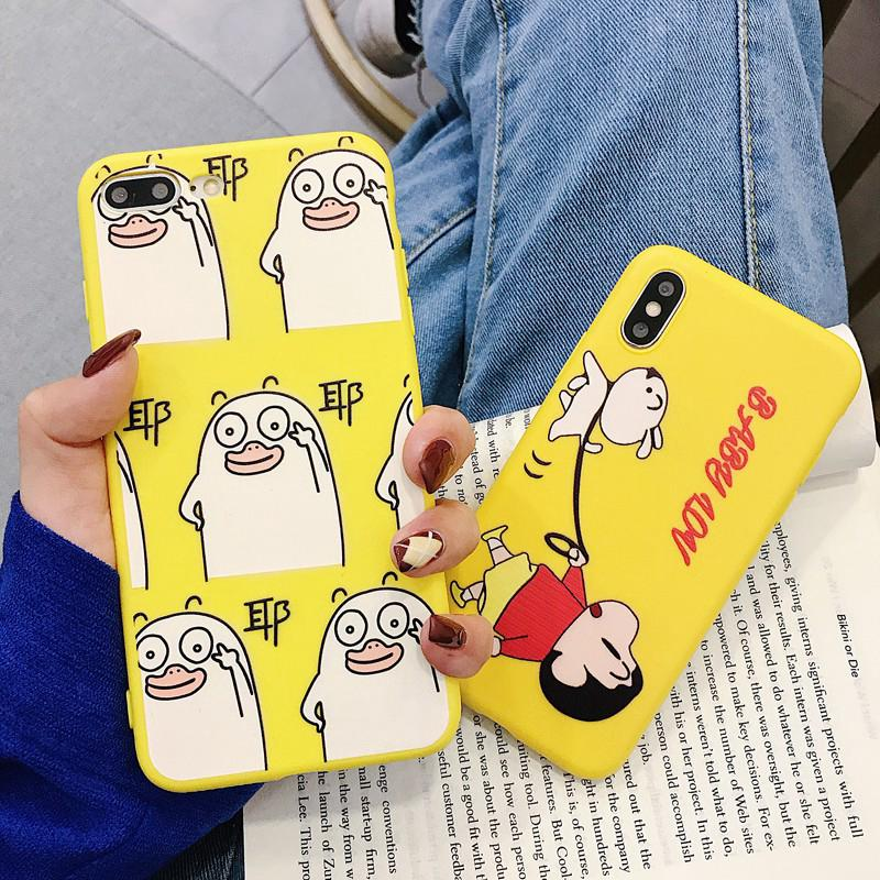 Review เคสสำหรับ iPhone XS MAX 6 6 S 6 Plus 7 8 Plus X XS XR Crayon shinchan and Dog Soft Case
