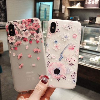 Review ViVO V15 Pro V11 X21 Y95 Y93 Y97 Y85 Y83 Y79 Y75 Y71 Y67 Y66 Y55 Y51 3D Relief Flower Soft TPU Phone Case Cover