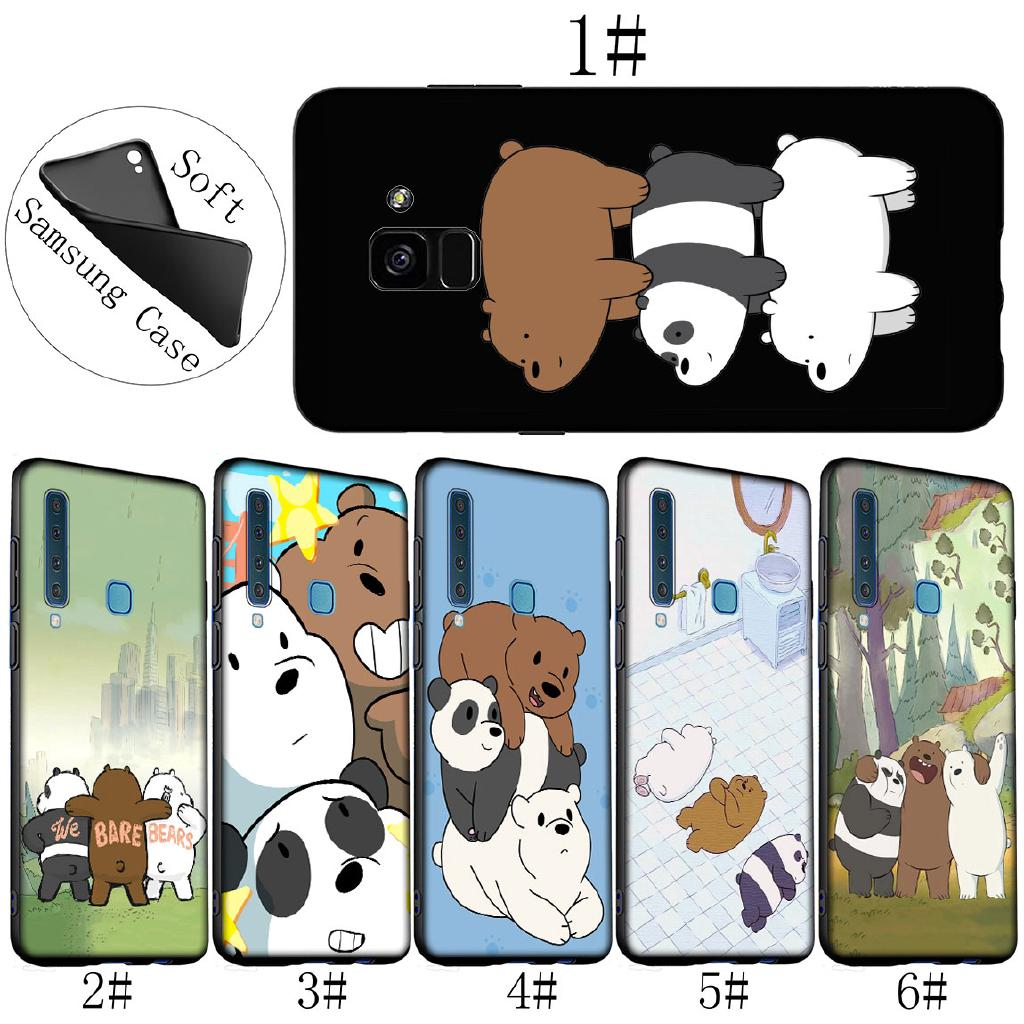 Review Samsung Galaxy J6 A6 Plus A7 A8 A9 2018 Note 9 8 We Bare Bears Anime Phone Case